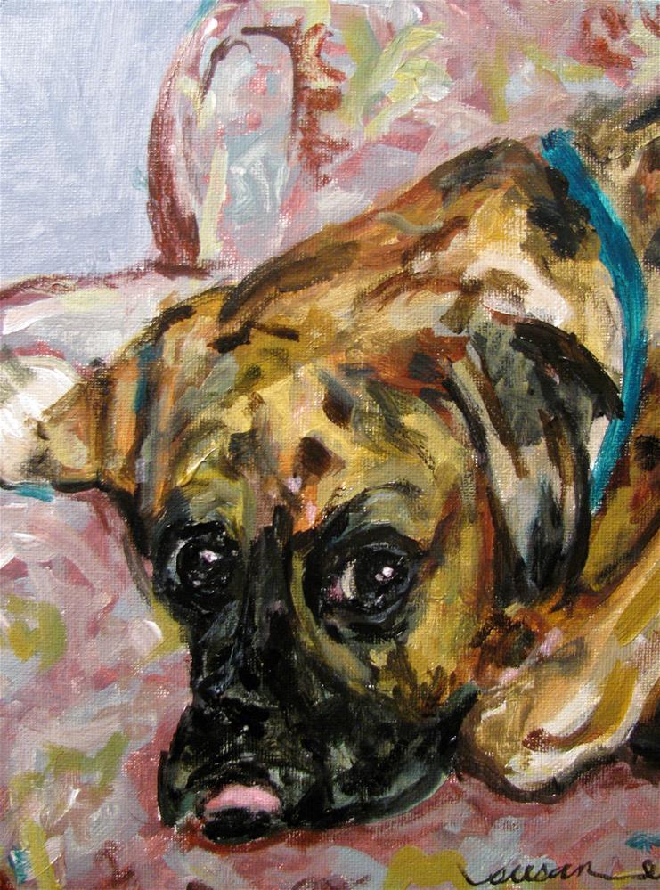 """Julie"" original fine art by Susan Elizabeth Jones"