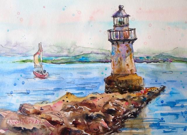 """exploring"" original fine art by Nora MacPhail"