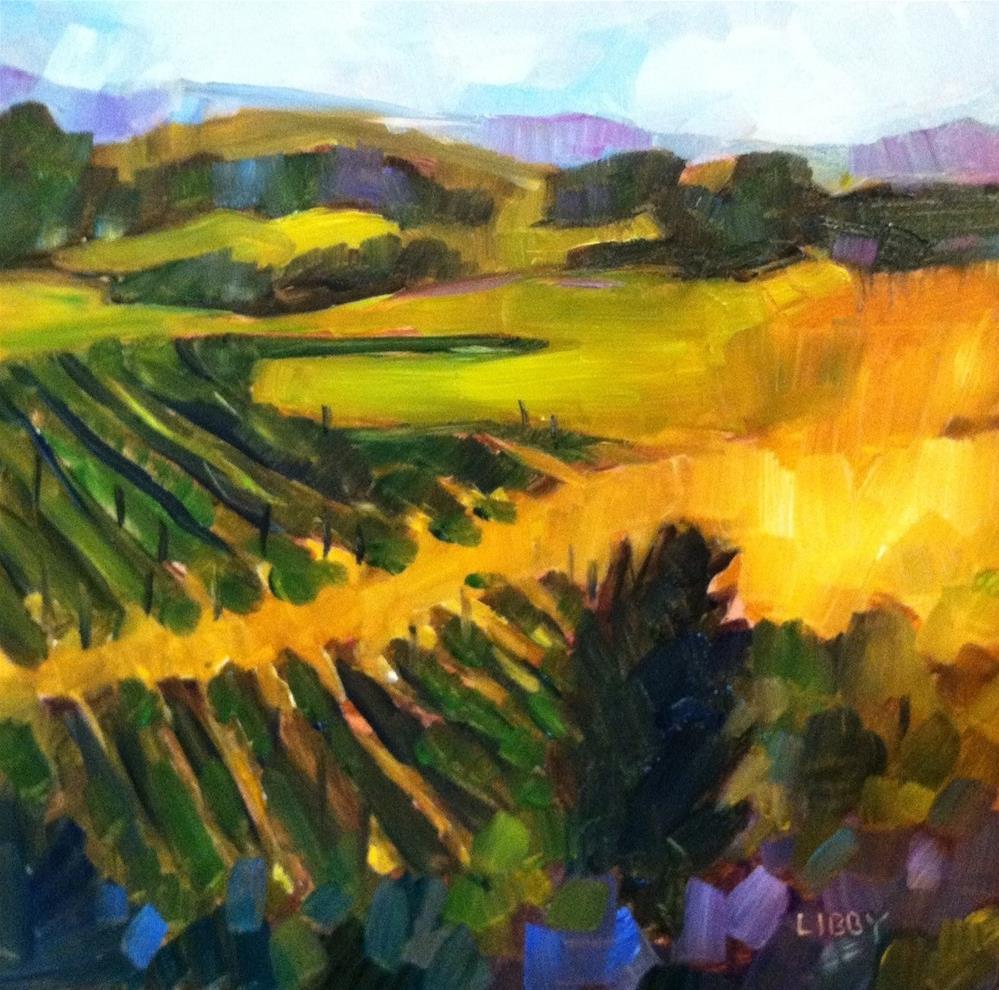 """""""Bright Future"""" original fine art by Libby Anderson"""