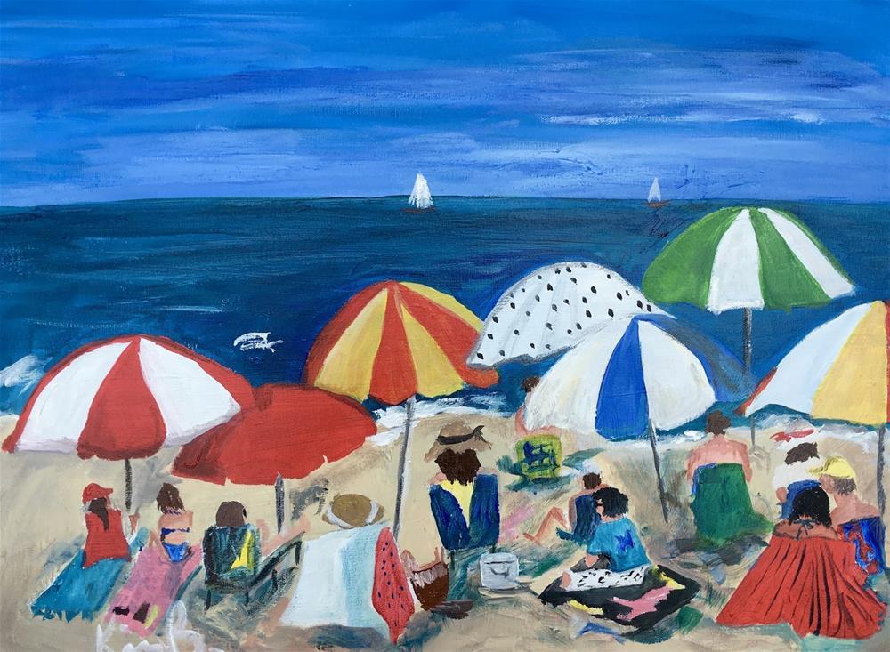"""Umbrella Magic"" original fine art by Kimberly Balentine"