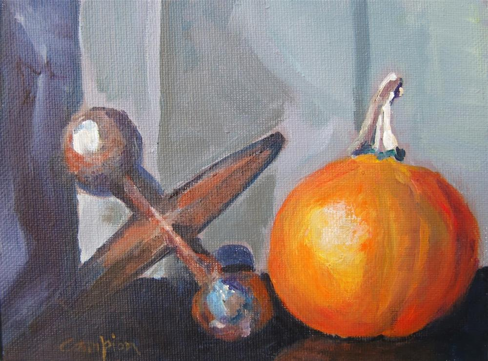 """177 Uncommon"" original fine art by Diane Campion"