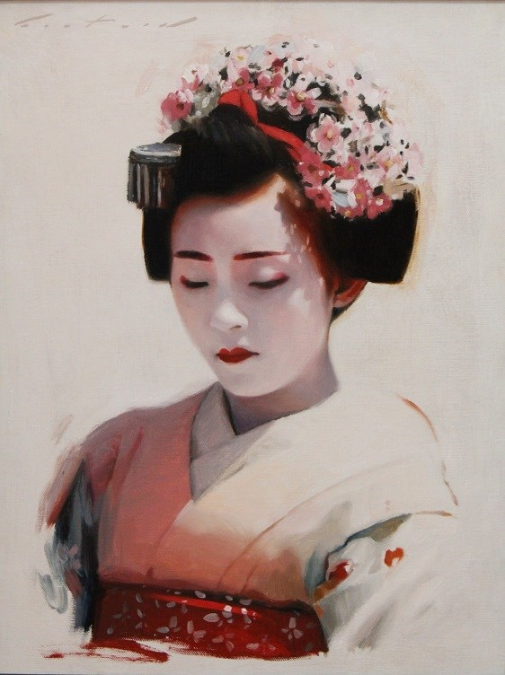 """Maiko Marika"" original fine art by Phil Couture"