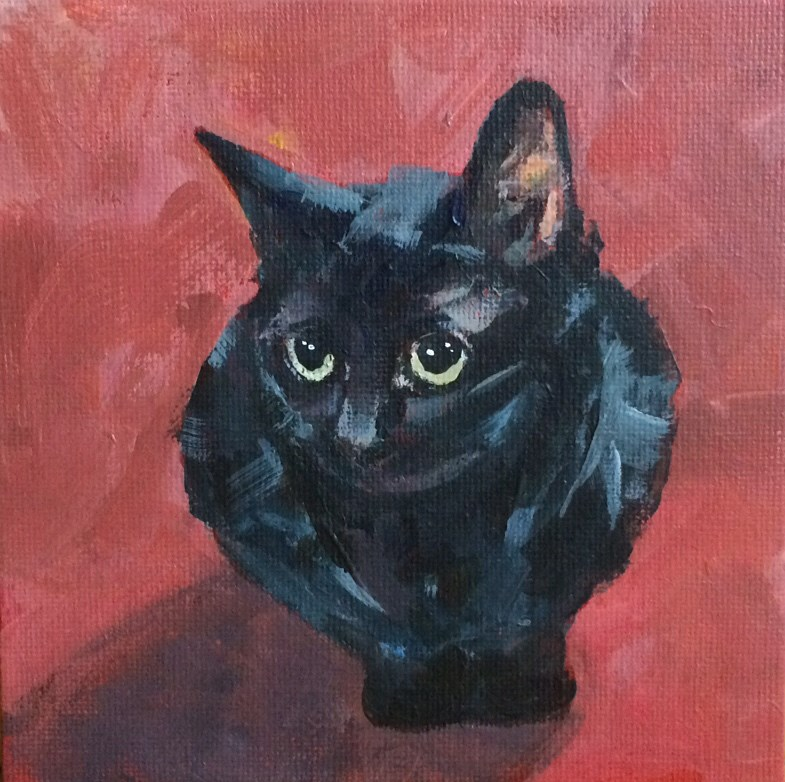 """Olive No. 9"" original fine art by Shannon Bauer"