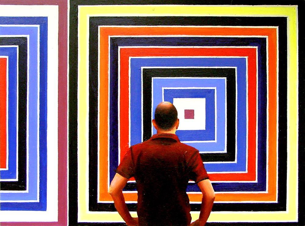 """Big Stella Colors"" original fine art by Gerard Boersma"