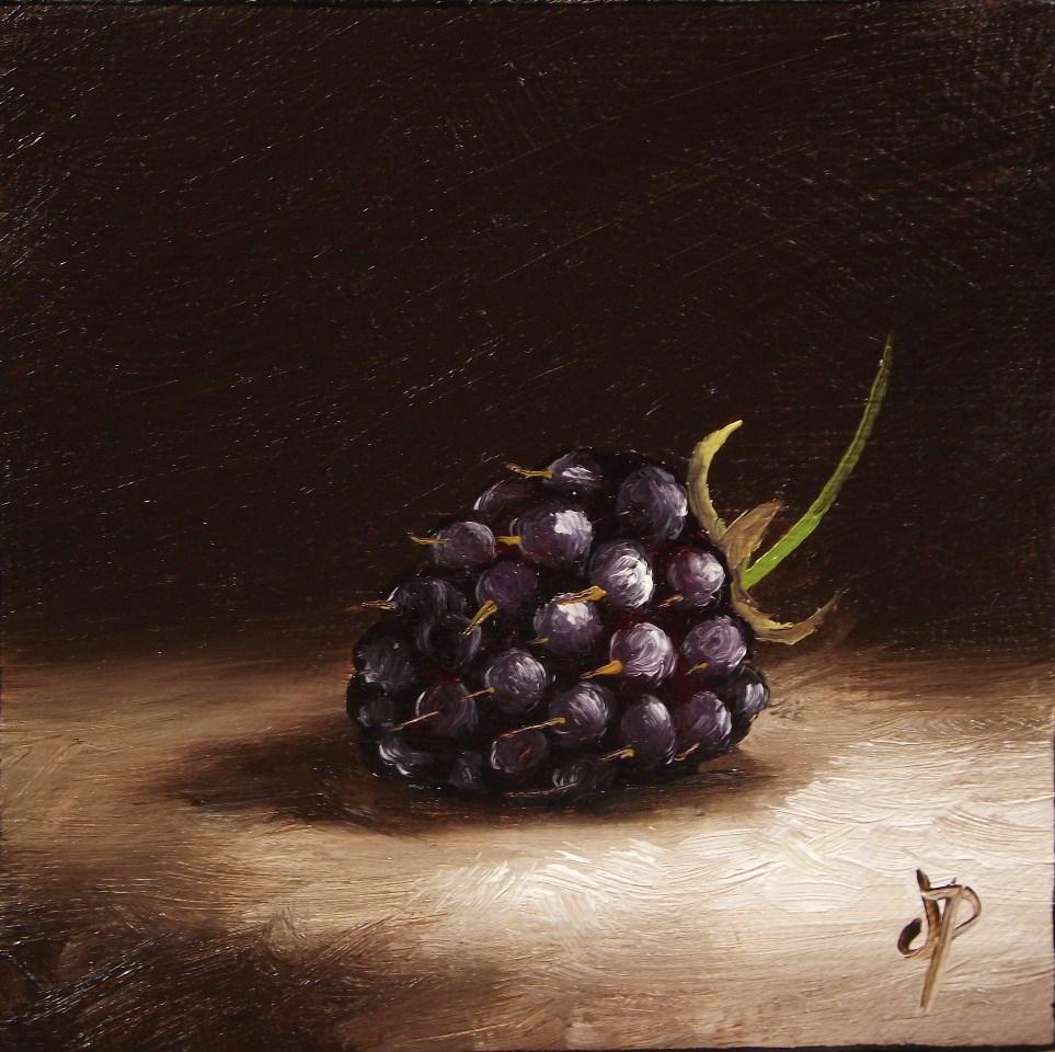 """another Little Blackberry"" original fine art by Jane Palmer"