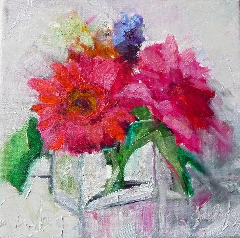 """Think Spring"" original fine art by Carol Josefiak"