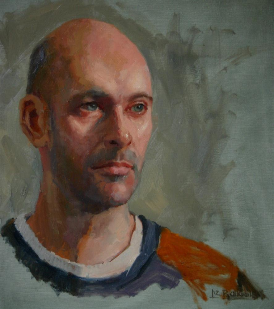 """Adam"" original fine art by Liz Balkwill"