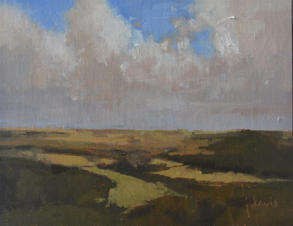 """""""View from the Hill"""" original fine art by Julie Davis"""