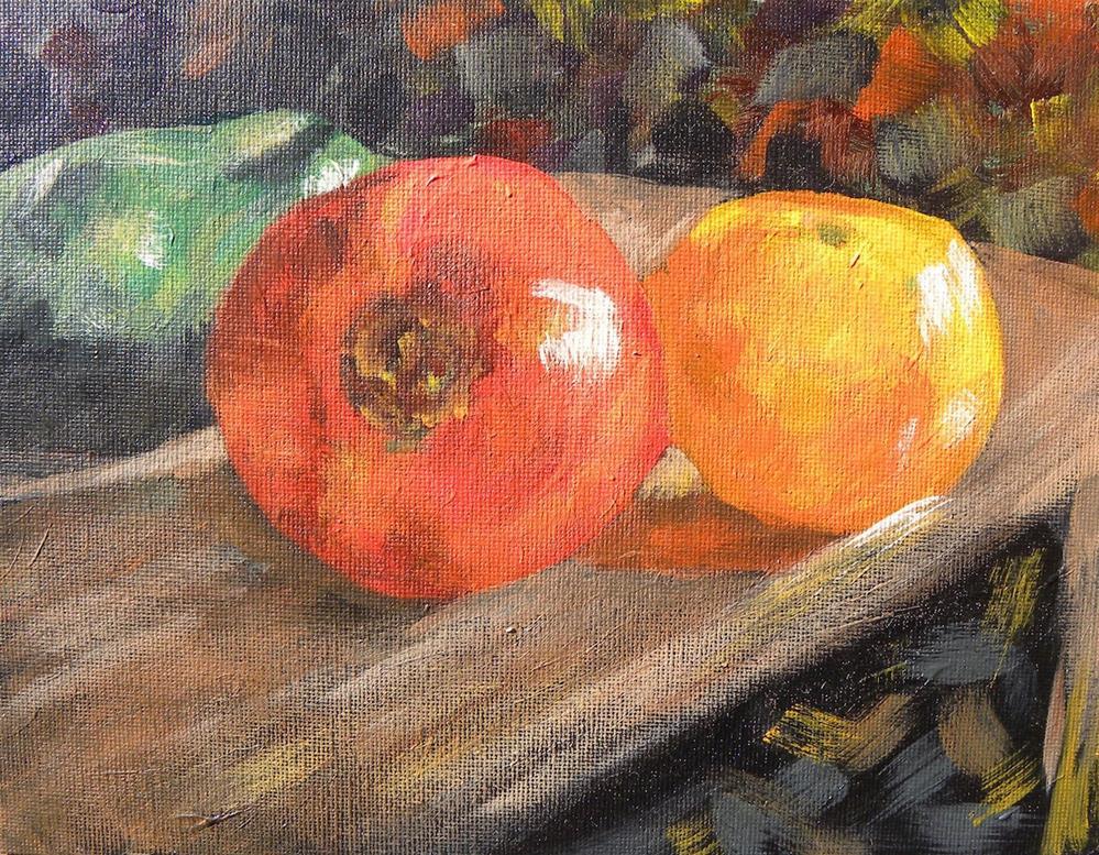 """Pepper And Tomatoes"" original fine art by cheryl buhrman"