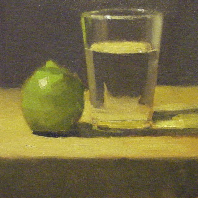 """LIMEWATER"" original fine art by Helen Cooper"