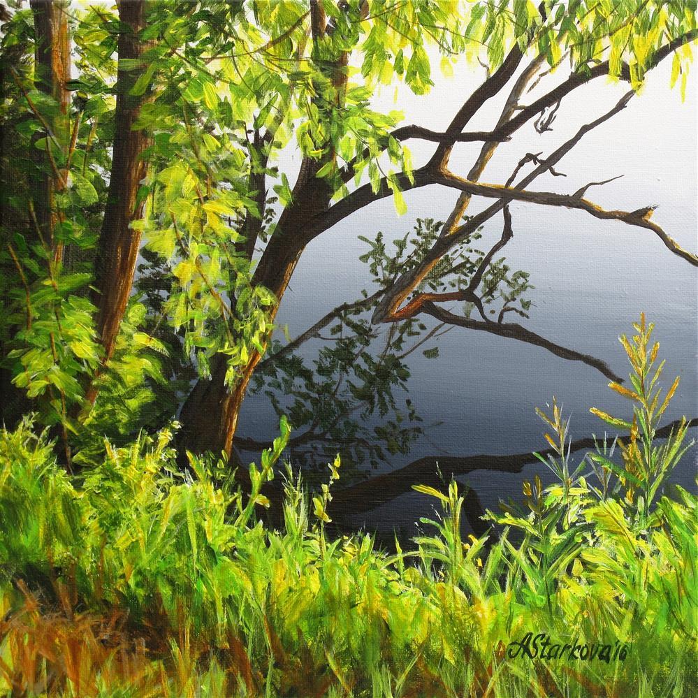 """On the edge"" original fine art by Anna Starkova"