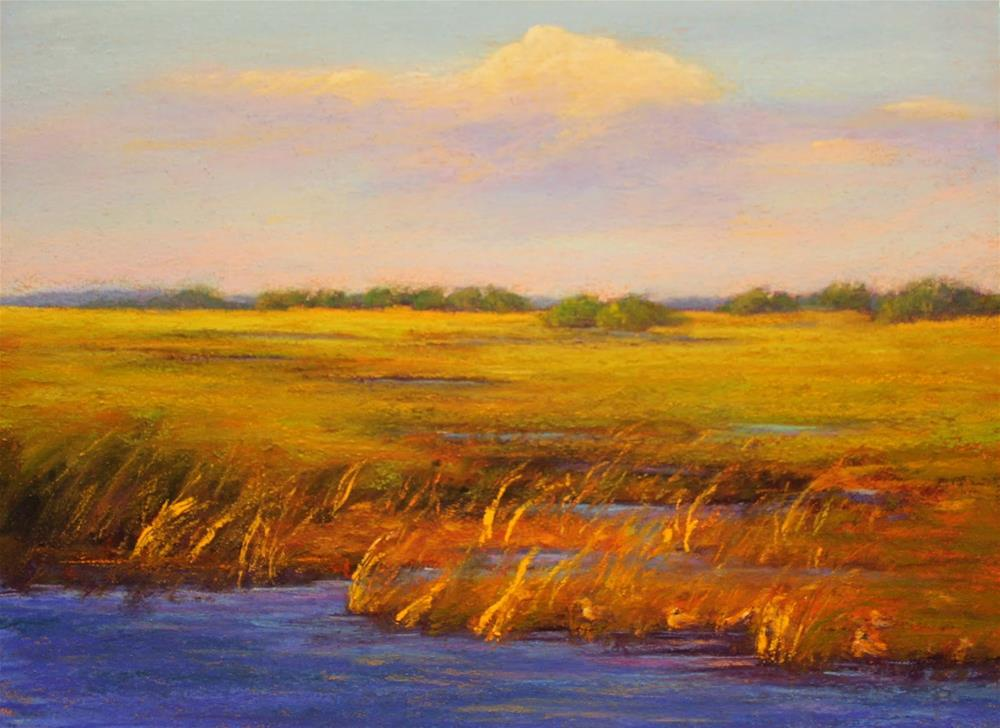 """""""Sunny Refuge"""" original fine art by Sharon Lewis"""