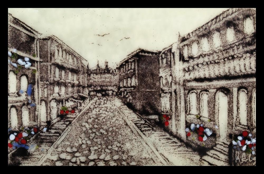 """""""Empty Street"""" original fine art by Kelly Alge"""