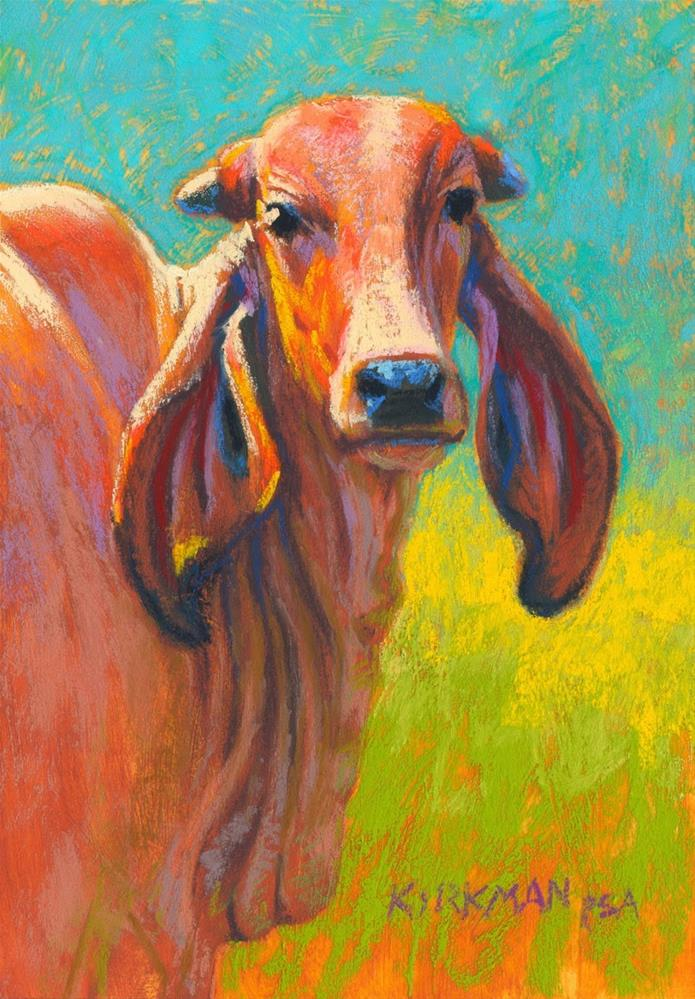 """Paprika"" original fine art by Rita Kirkman"