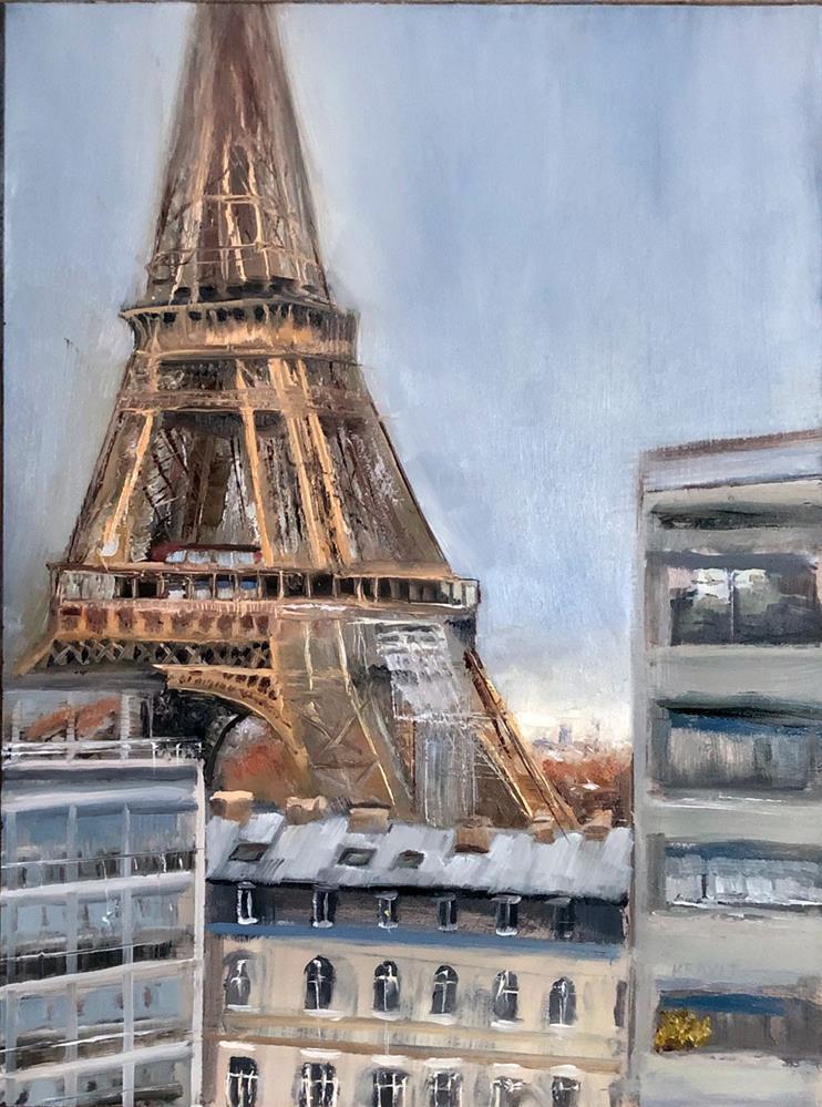 """""""Oui"""" original fine art by Garry Kravit"""