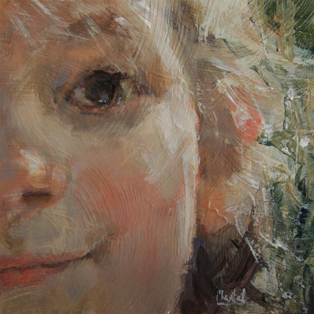 """Carefree"" original fine art by Chantel Barber"