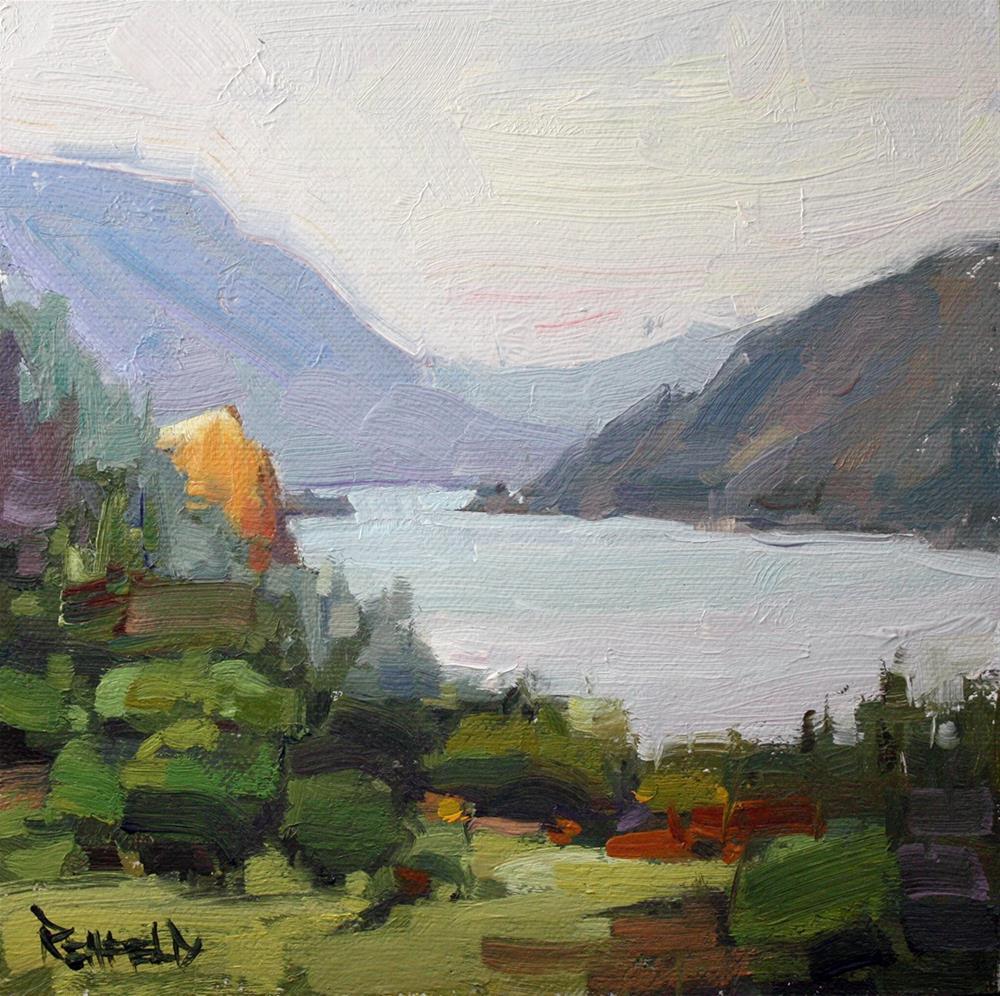 """The Columbia Gorge"" original fine art by Cathleen Rehfeld"