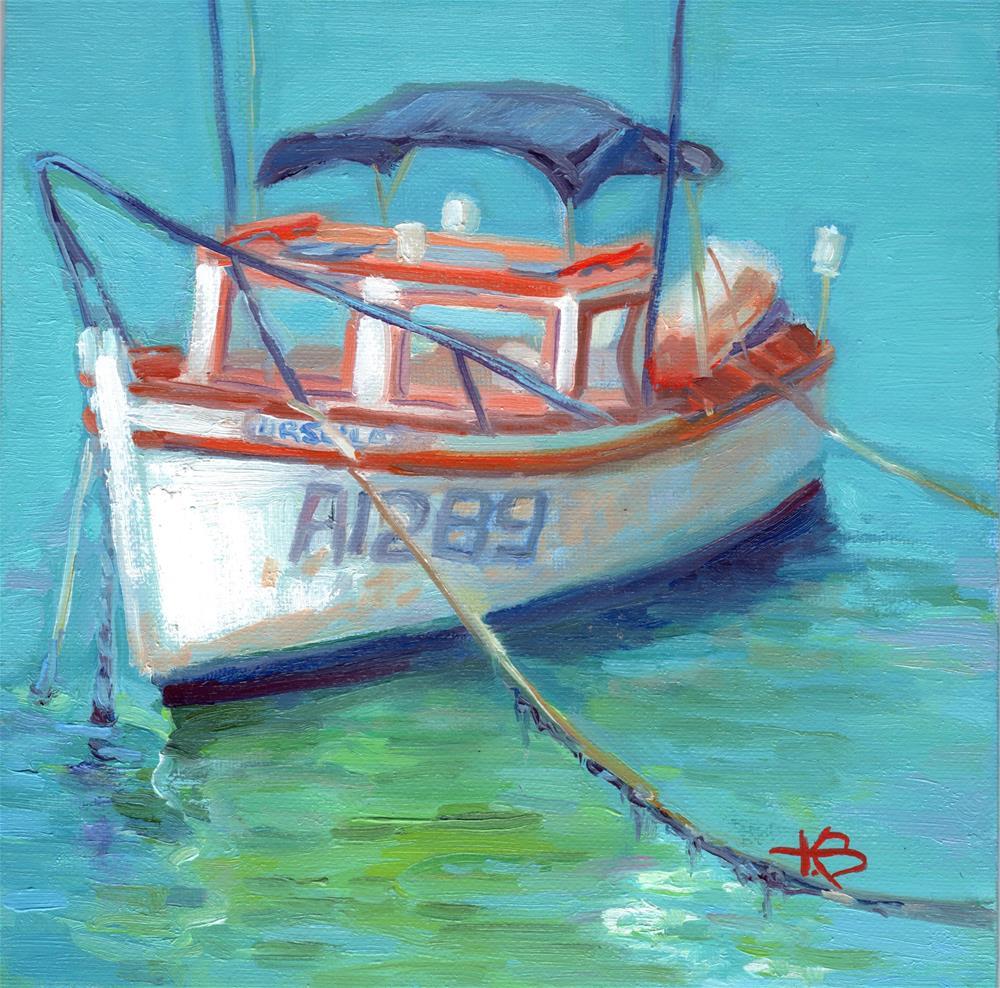 """Aruban Taxi"" original fine art by Kathy Bodamer"