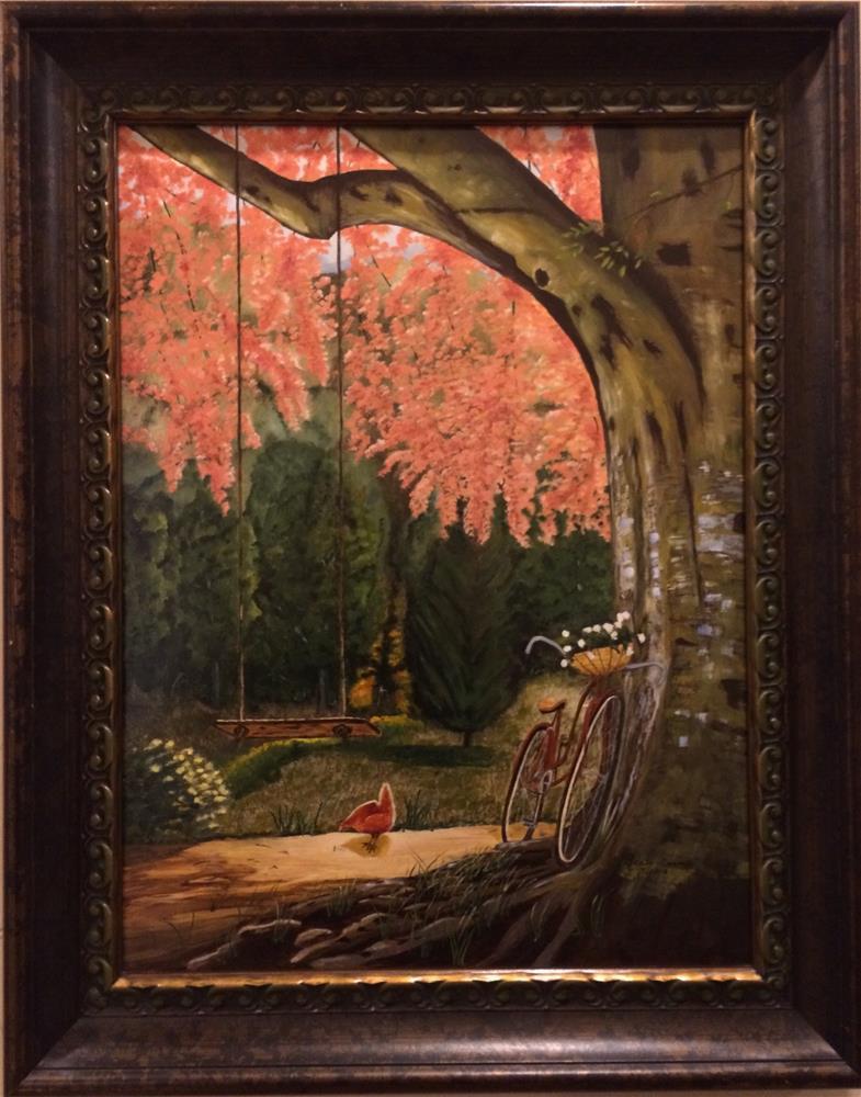 """""""My Favorite Place"""" original fine art by Beau Crump"""