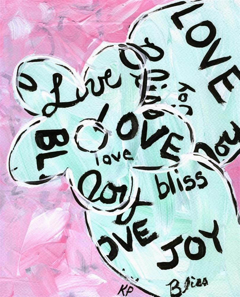 """Graffiti Love"" original fine art by Kali Parsons"