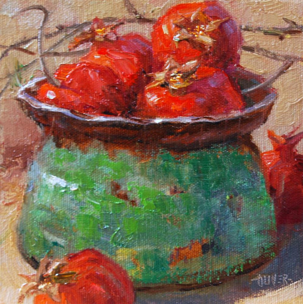 """""""Mother's Pottery #8"""" original fine art by Julie Ford Oliver"""