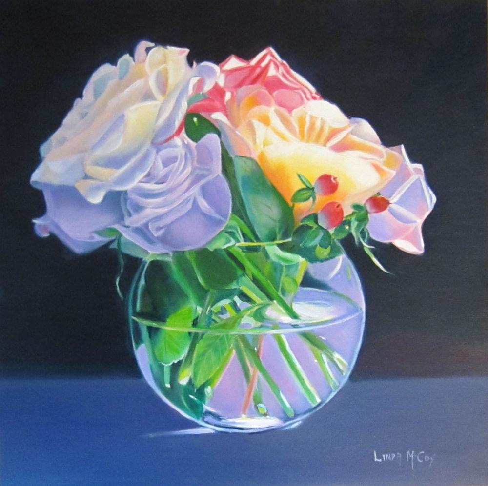 """Morning Dip"" original fine art by Linda McCoy"