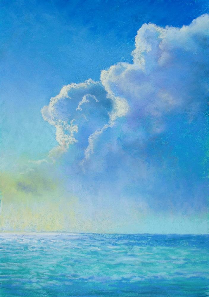 """""""Summertime Haze"""" original fine art by Christine Derrick"""
