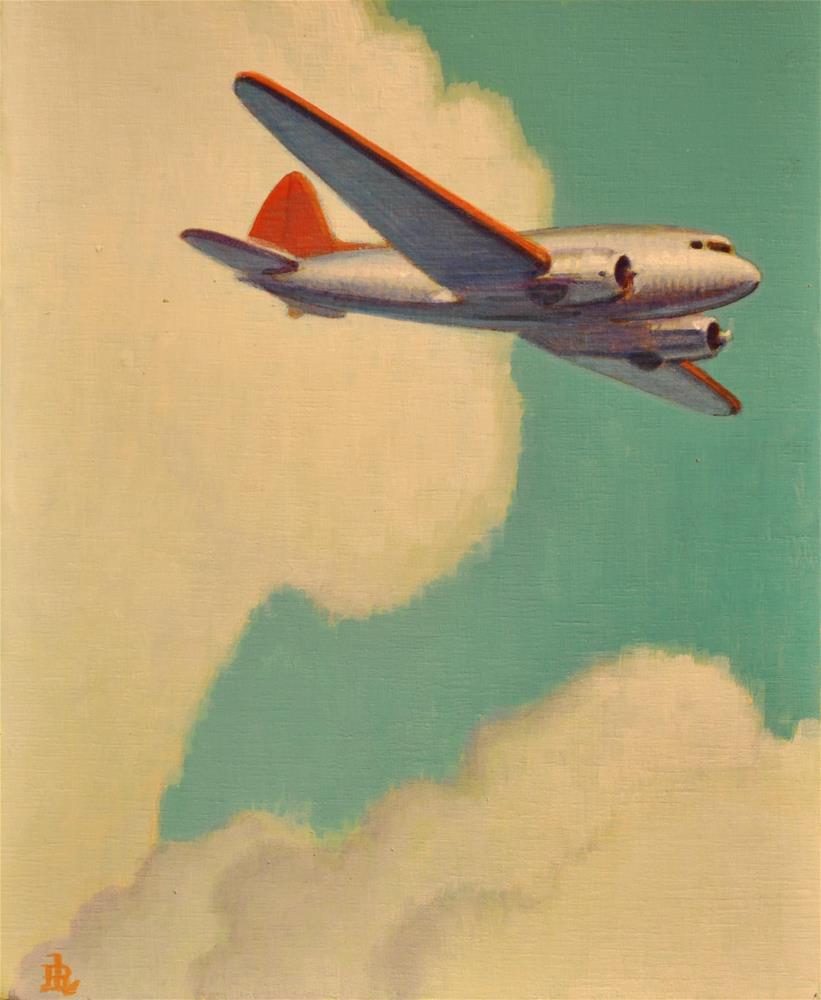 """DC3"" original fine art by Robert LaDuke"