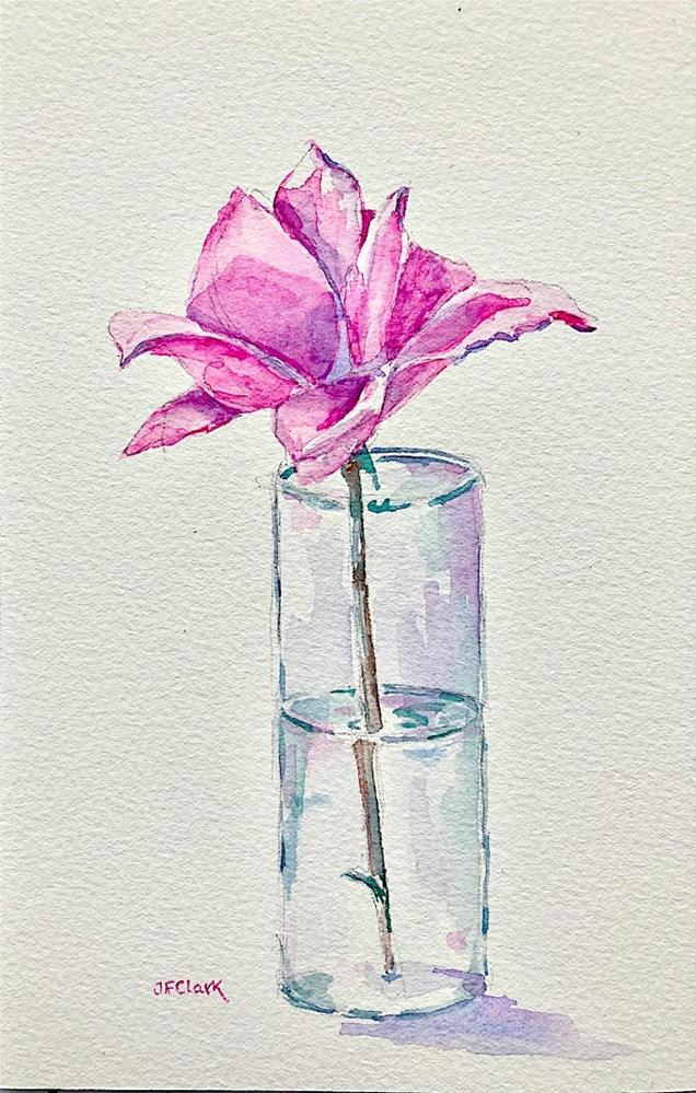 """Simple Pleasure"" original fine art by Judith Freeman Clark"