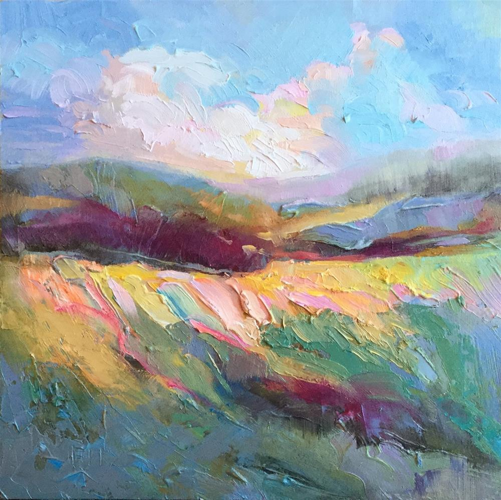 """High Country"" original fine art by Charlotte Fitzgerald"