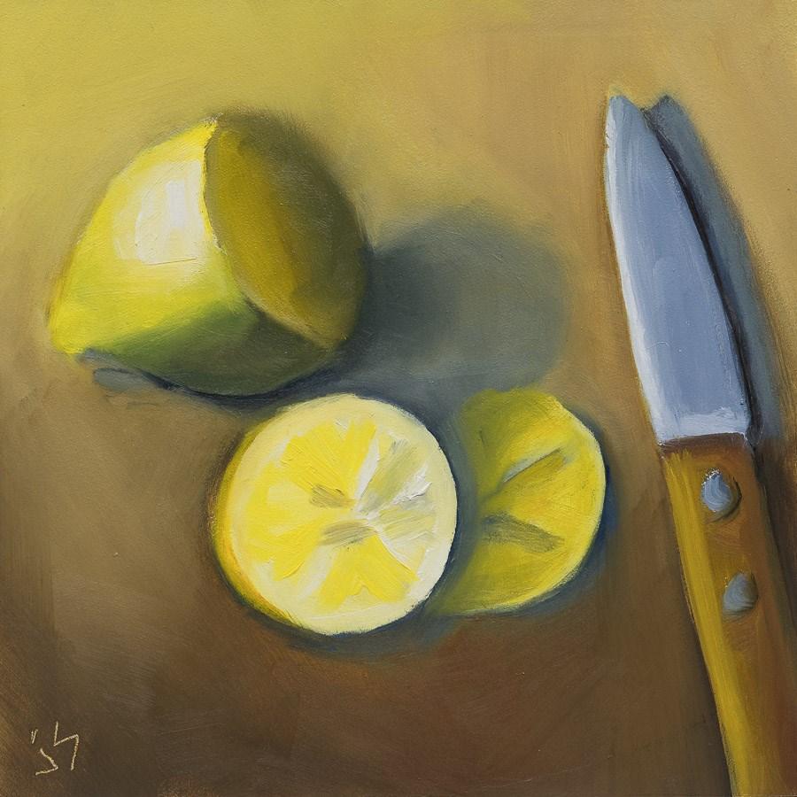 """Lemon, The End"" original fine art by Johnna Schelling"