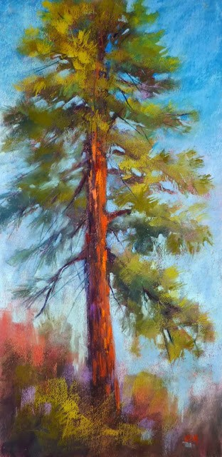 """""""10 Minutes to Better Tree Paintings"""" original fine art by Karen Margulis"""