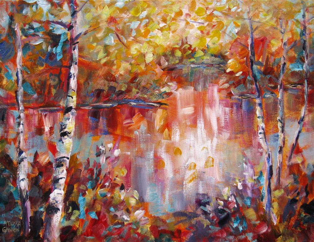 """Autumn's Magic Wand"" original fine art by Melissa Gannon"