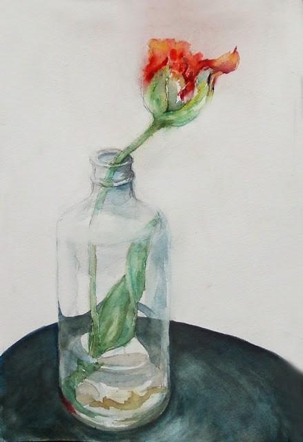"""16May016"" original fine art by Mitsuru Cope"