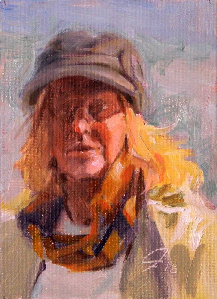 """""""Sunlight Study #3-9718"""" original fine art by Ron Ferkol"""