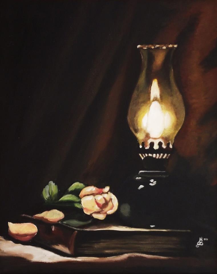 """""""Glow"""" original fine art by Kim Selig"""