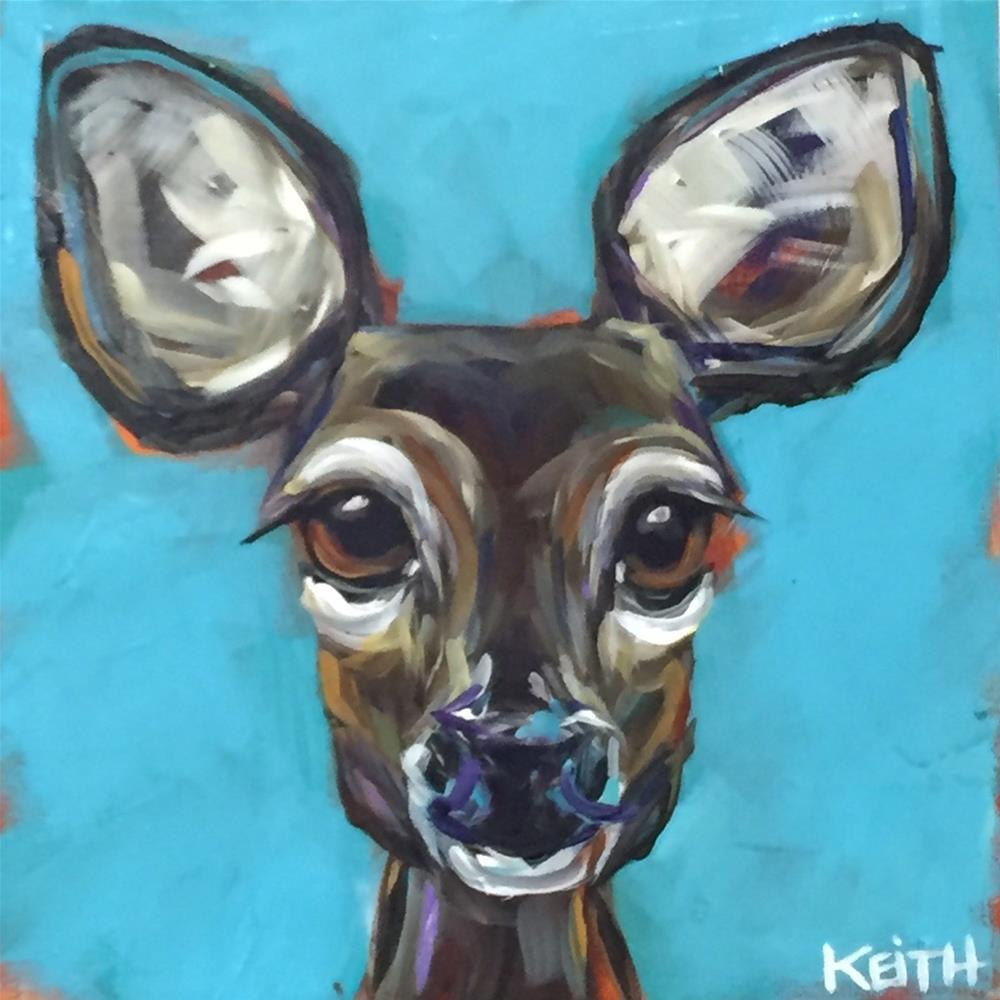 """Jane Doe"" original fine art by Kandice Keith"