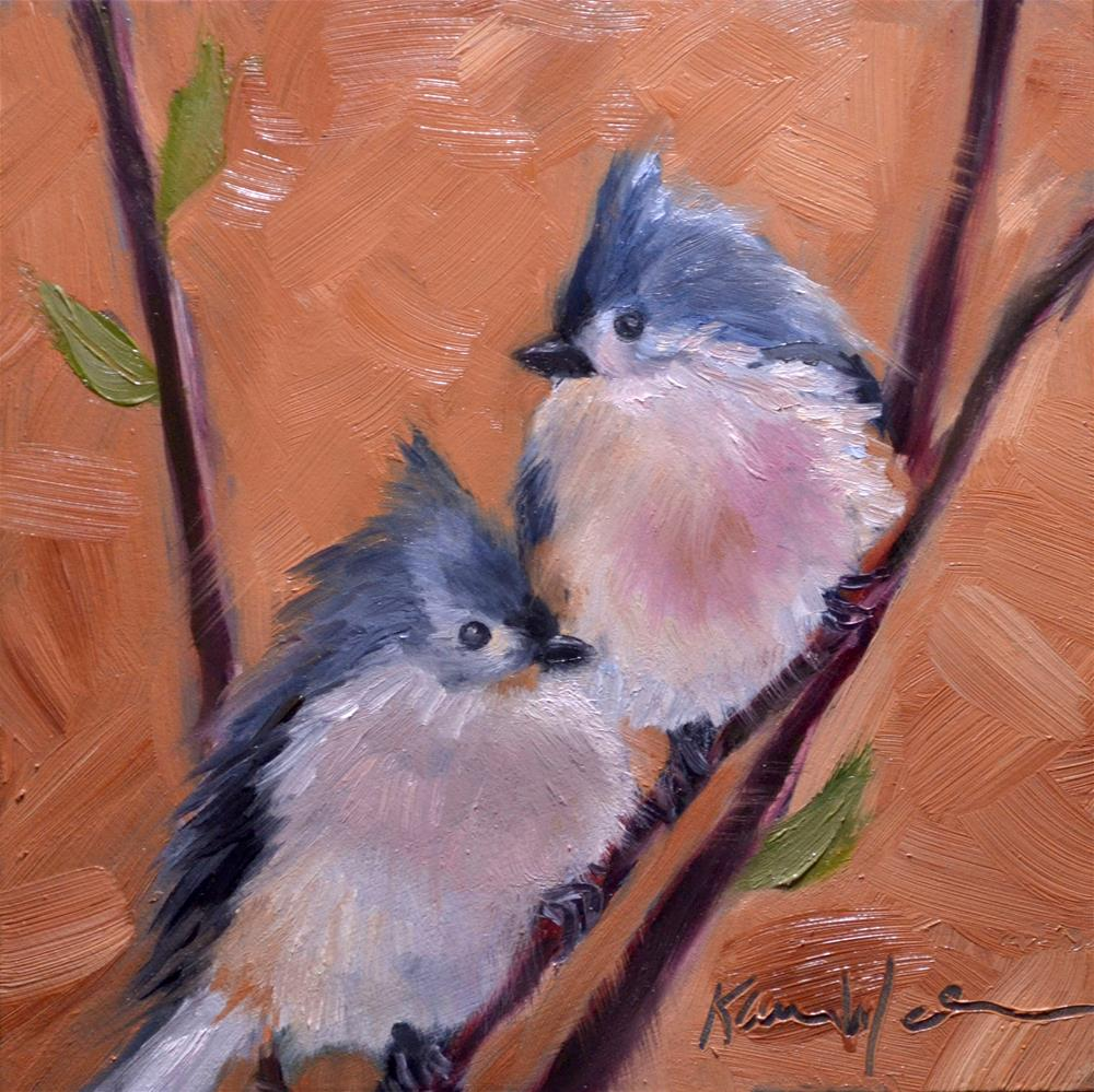 """Together"" original fine art by Karen Weber"