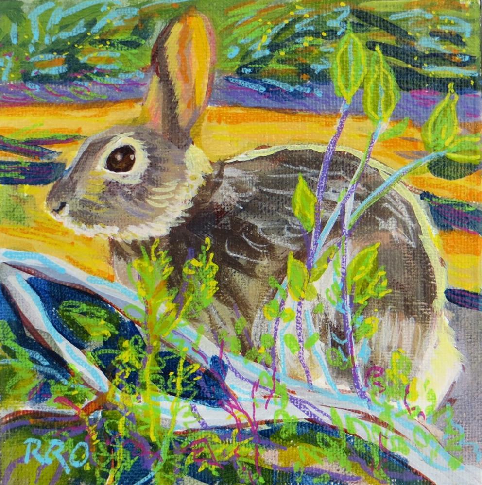 """Jack"" original fine art by Rhett Regina Owings"