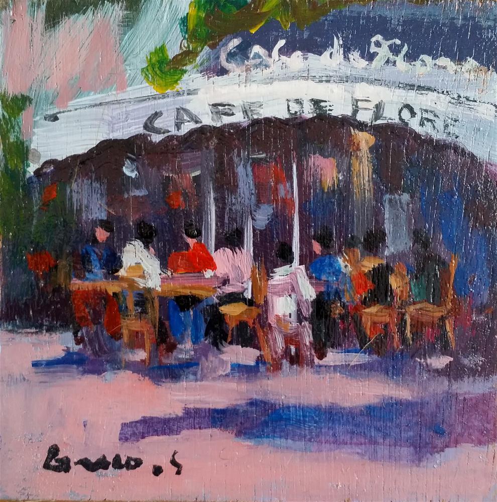 """Paris #2"" original fine art by salvatore greco"