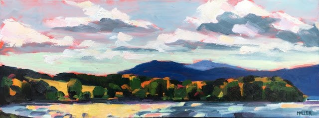 """Windy Day, Croton Point"" original fine art by Jessica Miller"