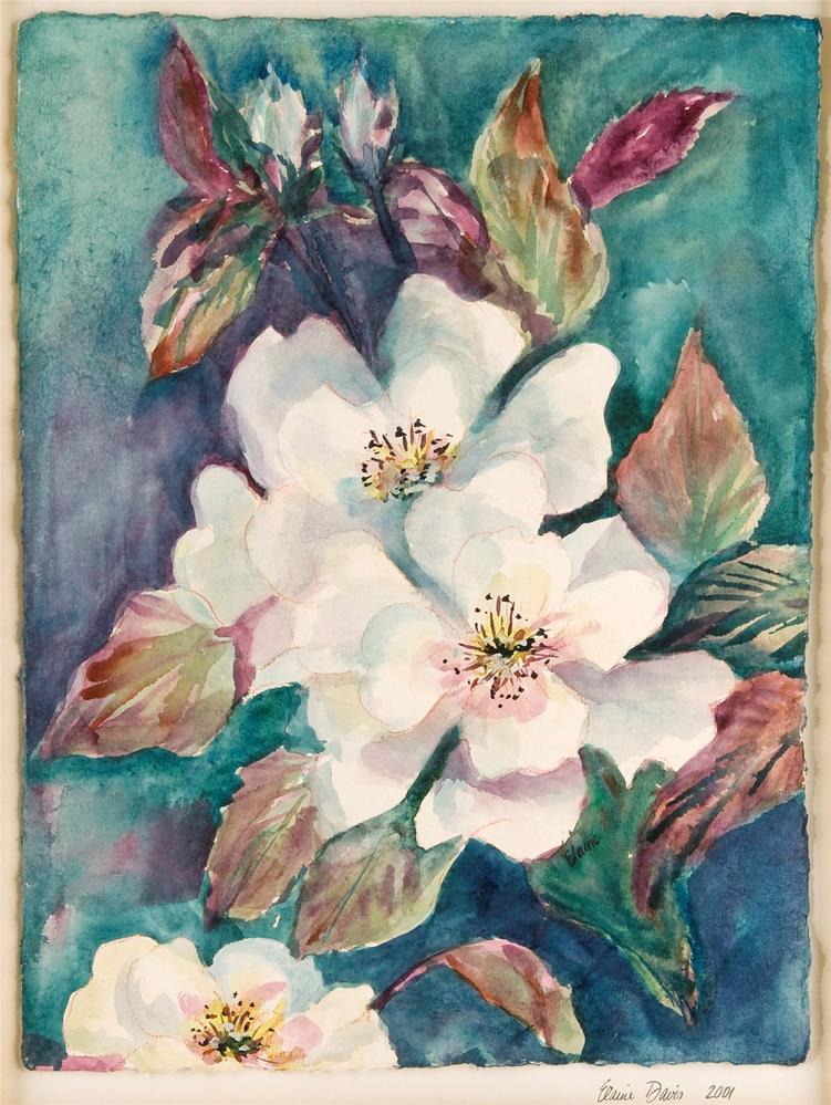"""Southern Magnolias"" original fine art by Elaine Ford"