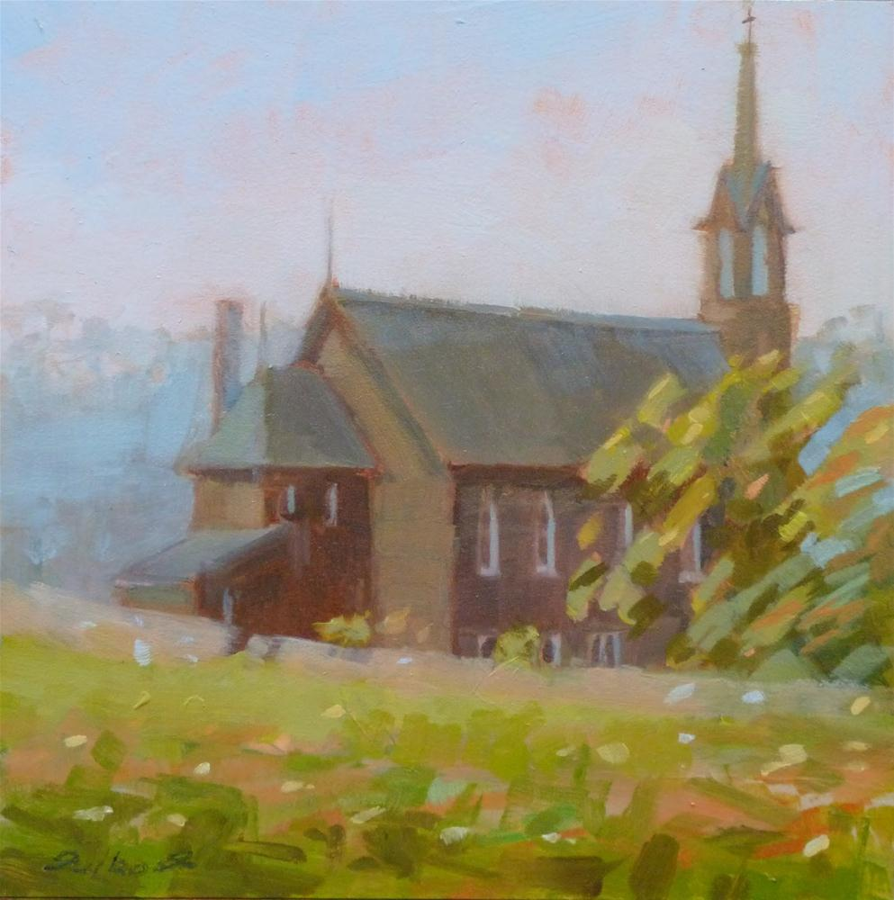 """Clover Bottom Church"" original fine art by Ron Ferkol"
