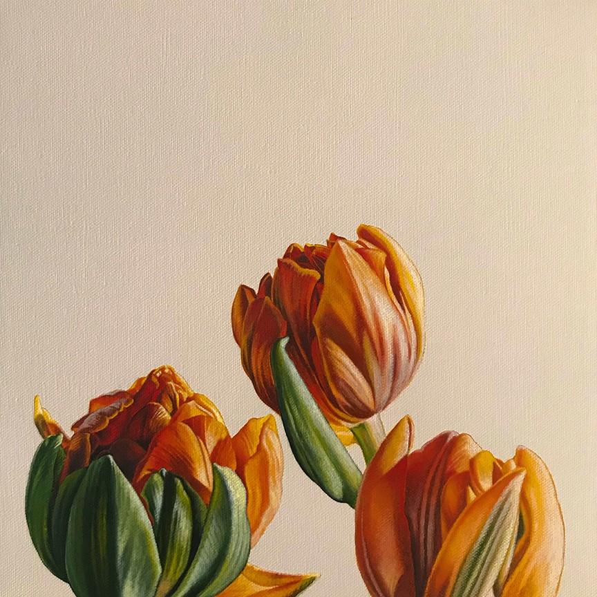"""""""In Bloom II"""" original fine art by Jelaine Faunce"""