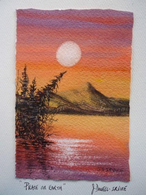 """Serenity Series No. 8"" original fine art by Jackie Irvine"