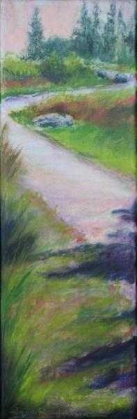 """Talking Waters Path"" original fine art by Jana Johnson"