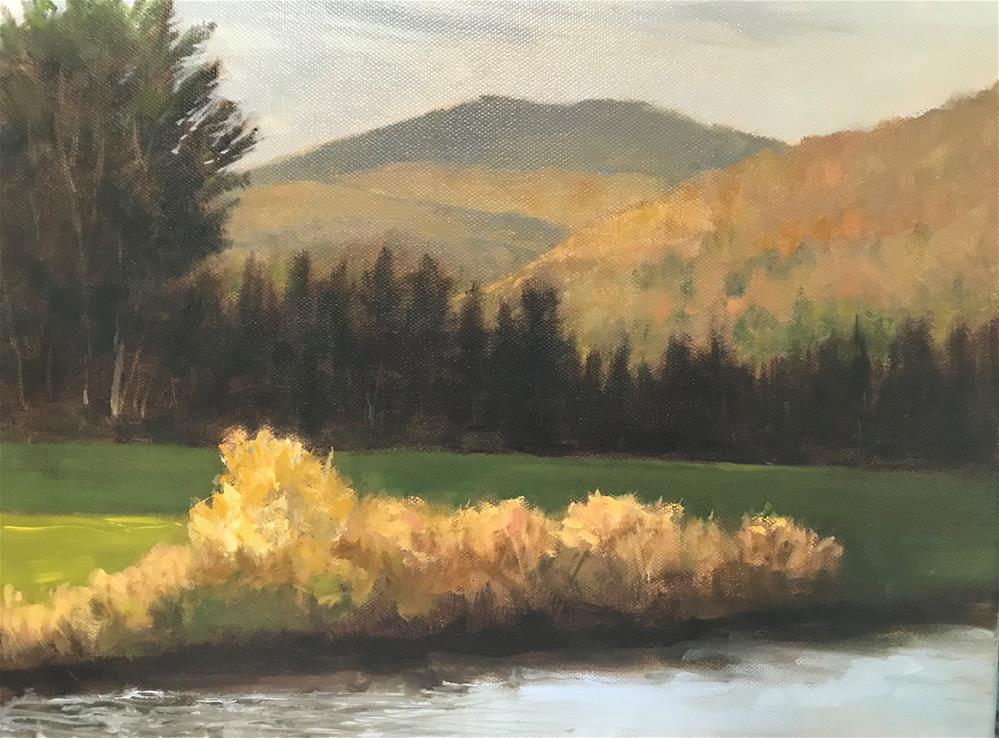 """October in Weston, Vermont"" original fine art by Betty Argiros"