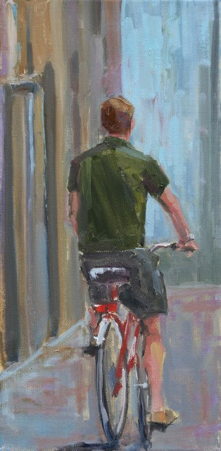 """ben"" original fine art by Carol Carmichael"