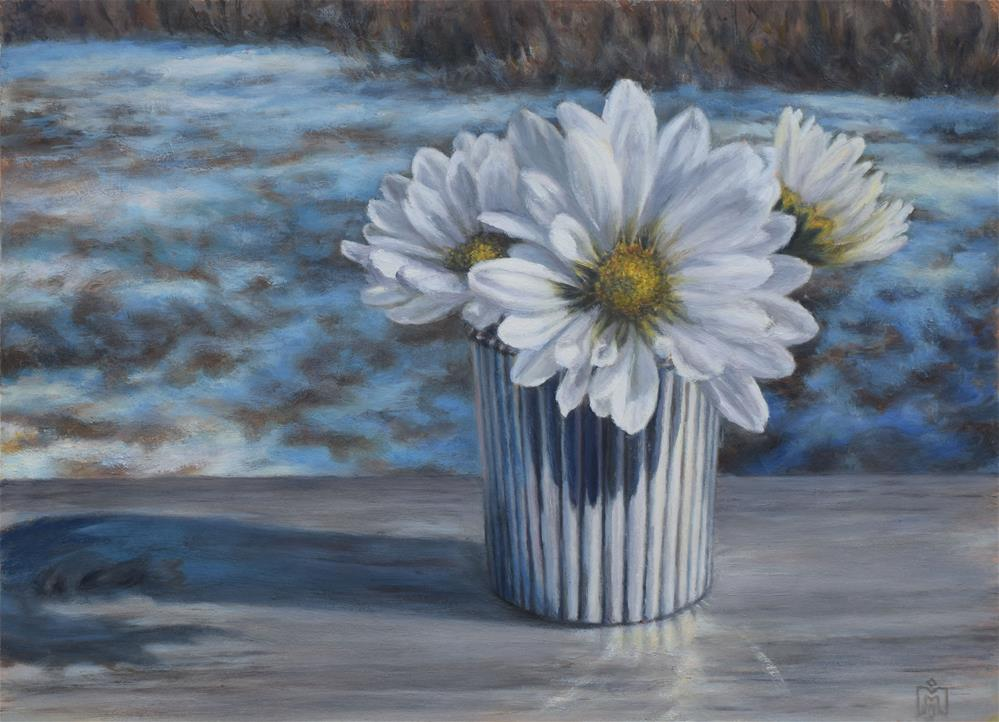 """Winter White"" original fine art by Melissa  Imossi"