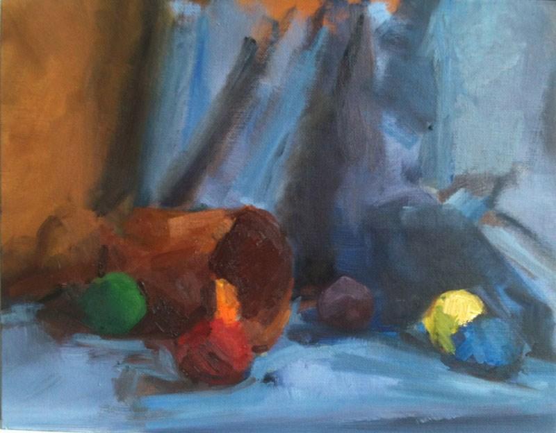 """""""Unfinished Composition"""" original fine art by Megan Schembre"""